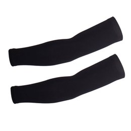 Wholesale Ice cool summer sunscreen cycling arm sleeves silicone no slip high elastic bicycle, golf arm warmers M L XL 2XL