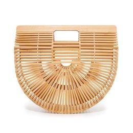 Женская сумочка Женская большая сумка для путешествий Totes Сумка из бамбука для дам ручной ткани из плетеной соломенной пляжной сумки Летний женский кошелек
