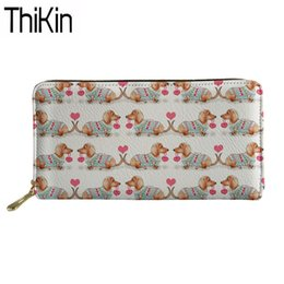 Coin Purses & Holders Thikin Large Capacity Travel Passport Cover Women Cute Corgi Printing Clutch Credit Card Holder Passport Wallet Purse Money Bag Card & Id Holders