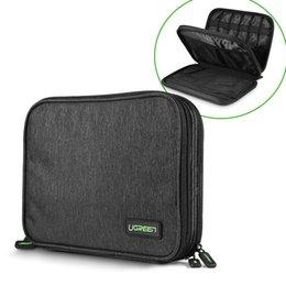 Taşınabilir USB HDD / SSD Sabit Disk Disk Güç Bankası Şarj Depolama Taşıma Kutusu Çantası