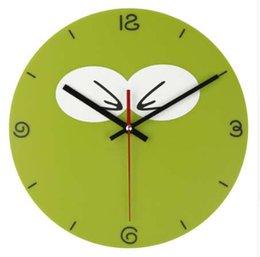 Hot novidade mascote coruja relógio de parede 3d diy adesivo de parede estilo pássaro dos desenhos animados de vinil real relógios de parede para casa decoração presente das crianças
