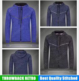 96cf614398e1c NUEVA UA ropa para correr Running Style Man manga larga sudaderas con  capucha de moda camisa masculina Hip Hop Sport Sweater Fleece Coat CHAQUETA