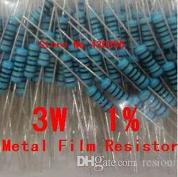 Discount resistor metal film ohm - Wholesale-10PCS 3W Metal Film Resistor +-1% 3W 0.15 ohm 0.15R Free Shipping
