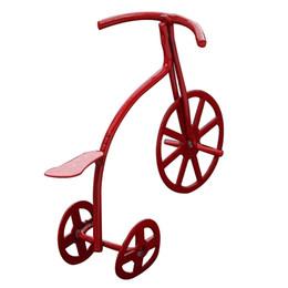 $enCountryForm.capitalKeyWord Australia - KEOL Best Sale 1:12 Cute small Bicycle Decoration Dollhouse Miniature Toy Decorations Kids red