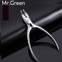 Ingrown Nail Pedicure Canada - New High Quality Stainless Steel Super-sharp Nail Clipper For Cuticle Pusher Toenails Ingrown Pedicure Nail Clipper 2017