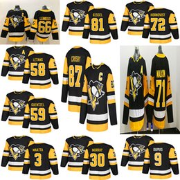 Malkin black ice jersey online shopping - Pittsburgh Penguins Jersey Third Sidney Crosby Evgeni Malkin Phil Kessel Kris Letang Hagelin Lemieux Murray Maatta Guentzel Hockey Men