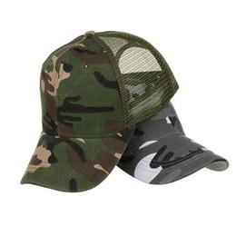 37ae3d1fe3d Camouflage Summer Cap Mesh Hats For Men Women Casual Hats Hip Hop Baseball  Adjustable Caps 18JUNE1