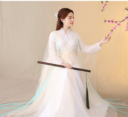 Wholesale traditional chinese woman costume resale online - Chinese Ancient Costume Dress Cosplay Costume Chinese Traditional Dress Skirt Ancient Tang Dynasty Hanfu Women s Hanfu Dresses