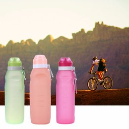 s bag classic 2018 - Drinkware s Portable 750ML Creative Leakproof Folding Water Bottle Kettle Bottle Outdoor Travel Sport Silicone Foldable