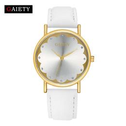 $enCountryForm.capitalKeyWord Canada - women watches brand 2017 luxury Fashion Leather Band womens bracelet watch Analog Quartz Round Wrist Watches ladies designer