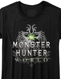 $enCountryForm.capitalKeyWord NZ - Monster Hunter World Capcom Video Game Womans Fitted T Shirt