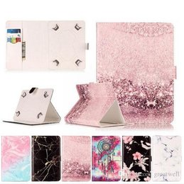 Mini Tablet Folio NZ - Marble Leather Flip Universal 7 inch-10 inch Tablet Case For Huawei Lenovo Samsung Asus Acer Tablet Protective Cover