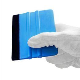 Herramientas de calcomanías de escobilla de goma Calcomanías de borde de fieltro 3M Etiqueta pa-1 Hoja de vinilo Escobilla de goma Herramientas de aplicador de envoltura de coche Herramientas de envoltura de película de vinilo HHA51