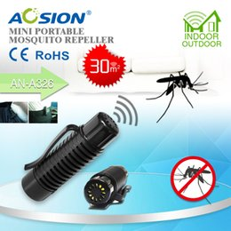 product samples UK - Samples to Mark AOSION China patent products Mini Portable Ultrasonic anti Mosquito Repeller repellent to repel mosquito