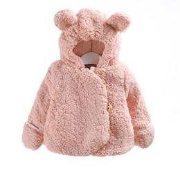 $enCountryForm.capitalKeyWord NZ - Autumn And Winter Wear Thick Coat Infant Boys Girl Children Fleece Cotton Plus Velvet Out Clothes Plush Jacket