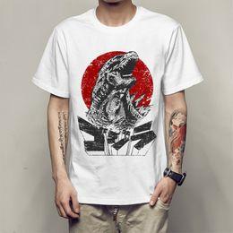 9e9361a703bd City Tees NZ - print Godzilla Smashing City 2 T-shirt novelty men short  sleeve