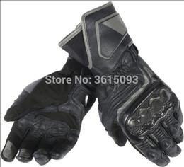 $enCountryForm.capitalKeyWord Australia - free shipping 2018 Dain Druid D1 Long Mens Leather Motorcycle Gloves Black Racing Glove Motorcycle Bike Glove