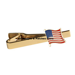 U.S.A. National Flag Tie Clip on Sale