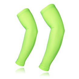 China New Men's Women's Cycling Armwarmers Sportswear Outdoor Sports Clothing Accessories Running Bike Bicycle Arm Warmers Sleeves cheap sportswear lycra running suppliers