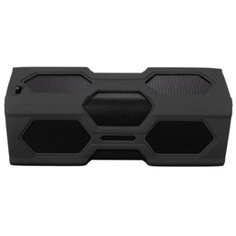 Discount plastic portable bluetooth speaker nfc - Outdoor portable NFC Waterproof Bluetooth 4.0 Super Bass Speaker Portable 3600mAh Power Bank wireless speaker