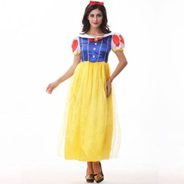 Wholesale halloween fairy costume women for sale – halloween New Halloween Cosplay Fairy Party Dress Masquerade Princess Costume Women Role Playing Dress Clothes Headwear Game Uniform