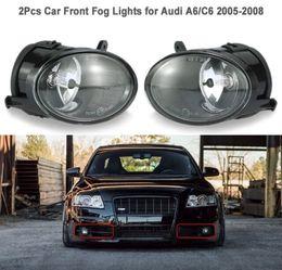 $enCountryForm.capitalKeyWord Australia - One Pair of Car Front Fog Lights LED Lamp for Audi A6 C6 2005-2008 4F094170