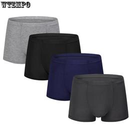c6730596c79a Mens Brand Boxers Soft Modal Underwear Sexy Homme Boxer shorts Plus Size  Solid Color Underwear Comfortable Breathable Men Boxers