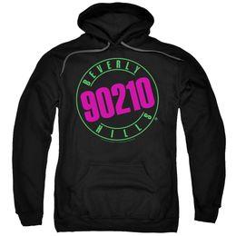 $enCountryForm.capitalKeyWord UK - Beverly Hills 90210 TV Show NEON LOGO Licensed Sweatshirt Hoodie