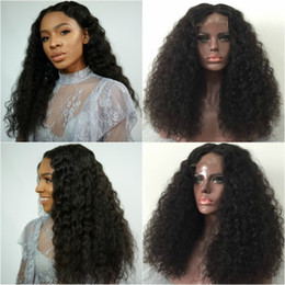 glueless lace wigs for black women Canada - Best Lace Front Human Hair Wigs For Black Women Loose Curly Wave Lace Frontal Wig Cheap Glueless Full Lace Human Hair Wigs