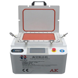 $enCountryForm.capitalKeyWord Canada - AK Plate Type Laminating Machine Vacuum LCD OCA Laminator Machine Bubble Remover Repair Machine For Touch Screen Refurbish Max 12 inch