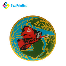 resin pvc Canada - Full color high quality custome 3d reward epoxy resin sticker printing wholesale