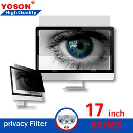 Laptop Filter Australia - Privacy Filter for 17 Inch Series Widescreen Laptop LCD Monitor Privacy Screen (,17'',17.3'') Free Shipping Top Grade Sale