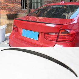 $enCountryForm.capitalKeyWord Australia - M3 Styling Carbon Fiber Glossy Car Rear Spoiler Trunk Wings Lip For BMW 3 Series F30 Spoiler 320i 330i 335i Sedan 2012-2017