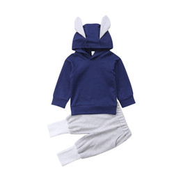 $enCountryForm.capitalKeyWord UK - 2pcs Newborn Kid Baby Girl Rabbit Clothes Hooded Top Shirt Pants Legging Outfits Size 1-5t