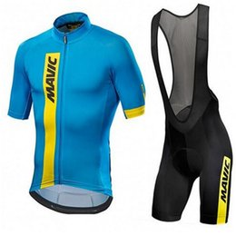 China Cool Mavic 2018 Pro Team Cycling Clothing  Road Bike Wear Racing Clothes Quick Dry Men's Cycling Jersey Set Ropa Ciclismo Maillot supplier bike coolers suppliers