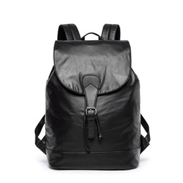 $enCountryForm.capitalKeyWord UK - High quality leather men backpack shoulder bag Schoolbag computer Travel bag women backpack 1029#