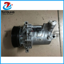 NEW sale Car accessories a c compressor pump CR12 CR12SC for Renault New Fluence 1.6 2014- 6pk 12V brand new on Sale
