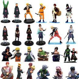 sasuke figures 2019 - 1pc lot Naruto Figures 26 Styles Anime Zetsu Minato Itachi Sasuke Yahiko Konan Action Figure Toys PVC Collections Kids T