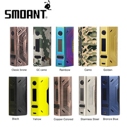 Wholesale Original W Smoant Battlestar TC Box MOD without Battery for Spring loaded pins SS connector mm for E cig NEW