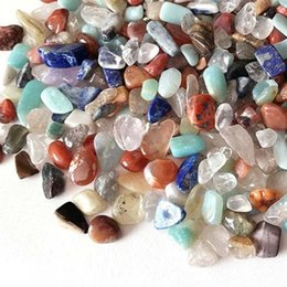 $enCountryForm.capitalKeyWord NZ - 100g Colorful Mixed Assorted crystal Stone Gravel New Decorate Aquarium Fish Tank Tumbled Crushed Irregular Shaped Chips adorn Healing Rough