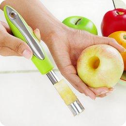 Núcleo de frutas de aço inoxidável separador de esforço Easy Twist Núcleo Removedor de sementes de maçã Pitter Seeder acessórios de cozinha em Promoção