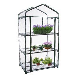 Ingrosso Copertura della serra per piante domestiche a filiera da giardino riscaldata in PVC (senza supporto in ferro)