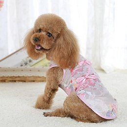 Dog Suit Set Canada - Pet Clothes,Cute Tang Suit Chinese Cheongsam Costume Clothes for Dogs Pet Puppy Cats