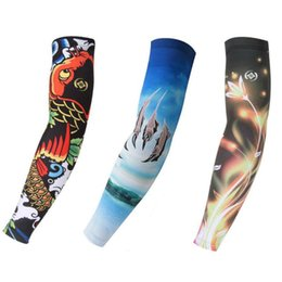 393be67727 Hopeforth Compression Arm Sleeves Bicycle Cycling Arm Cover Sports Sleeves  Basketball Volleyball UV-Protection Arm Warmer 1Pair