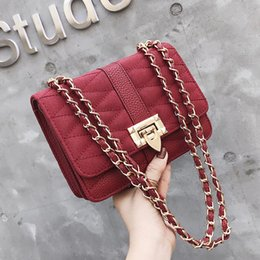 $enCountryForm.capitalKeyWord Canada - New Style Stripes bags Messenger Chain bags purse serpentine envelope vintage shoulder messenger strap bags Top-handle Xinyuan  8