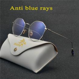 03a52f6a3d1 Anti Blue Ray Eyeglasses Rectangle Optical Myopia Eyewear Titanium Frame  Black Computer Glasses Frame for Women Men NX