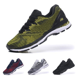 e8797a3d9a7 New Gel Nimbus 20 Top Quality Sports Running Shoes Black Grey White For men  Athletics Discount Sneakers US 40.5-45