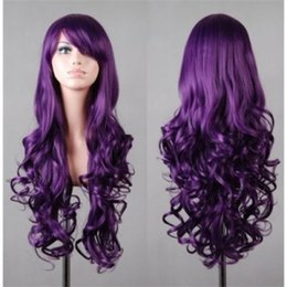 long wavy hair pictures NZ - Fashion Long Assorted Color Harajuku Fluffy Wavy Synthetic Cosplay Wig Hair>>Free shipping New High Quality Fashion Picture wig