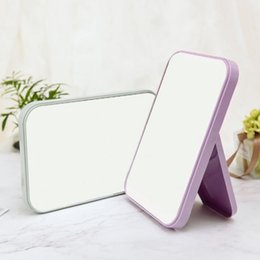 $enCountryForm.capitalKeyWord NZ - Folding Mirror Portable Makeup Vanity Mirror Cosmetic Desktop Table Mirrors For Women Beauty Makeup