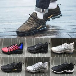 $enCountryForm.capitalKeyWord Canada - [With Box] Vapormex TN Plus Olive In Metallic White Silver Colorways Shoes Men Shoes For Running Male Shoe Pack Triple Black Mens Shoes